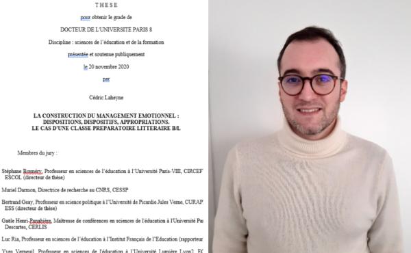 Cédric Laheyne thèse de doctorat (novembre 2020)
