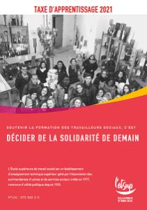 miniature couverture brochure Taxe d'apprentissage