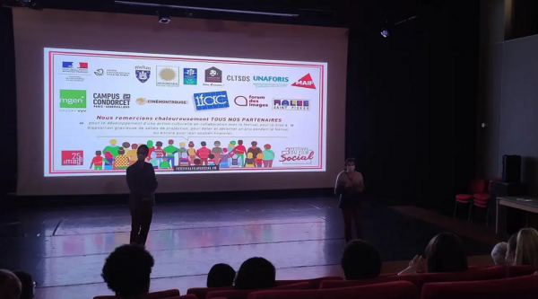 Festival du film social 2021 : une projection en présence d'étudiants de l'ETSUP
