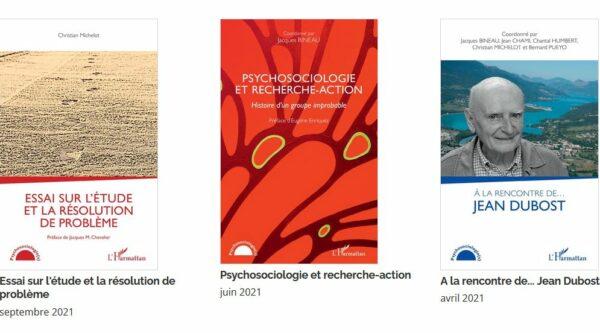 couverture des livres collections psychosociologie